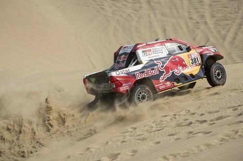 Stéphane Peterhansel, Sunderland y Nikolaev lideran el Dakar 2018