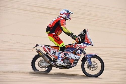 Carlo Vellutino es el mejor peruano en motos