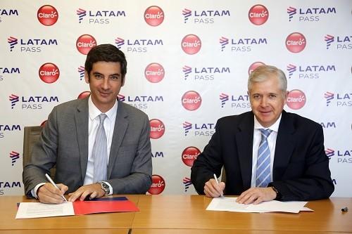 CLARO y LATAM  Pass se unen en alianza exclusiva para beneficio de sus clientes