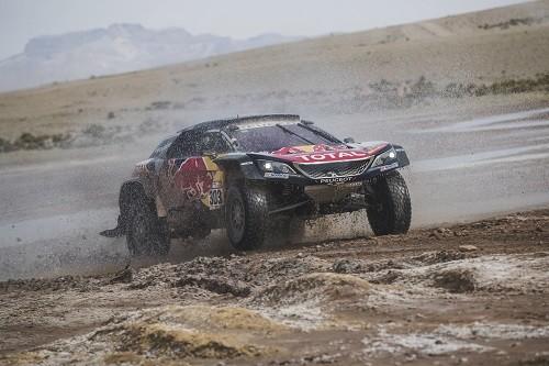 El campeón Peterhansel brilló y ganó la octava etapa del Dakar