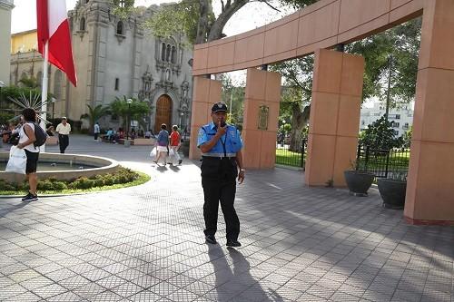 Miraflores reforzará seguridad en zonas turísticas ante llegada del Papa Francisco
