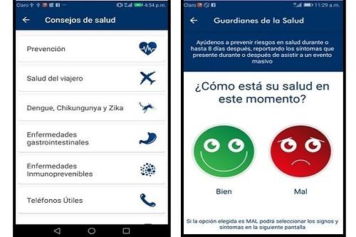 Aplicativo móvil 'Guardianes de la Salud' del Minsa registró más de 300 reportes durante visita del Papa Francisco al Perú