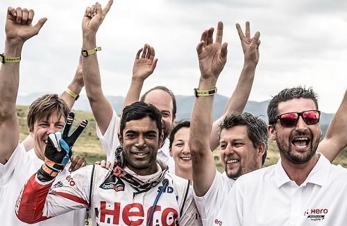 El equipo hindú Hero Motosports finalizó su segundo Dakar con muy buenos resultados