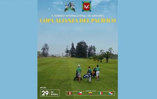 Selecciones menores de Golf de seis países de América disputarán la Copa Alianza del Pacífico 2018