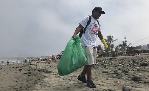 Playas turísticas del norte: 2.4 toneladas de desperdicios se recolectan en jornadas de limpieza