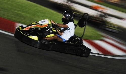 Campeonato Mundial De Karts en el  Boulevard De Asia