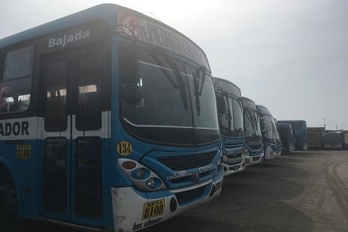 Empresas de transporte público operan en la informalidad