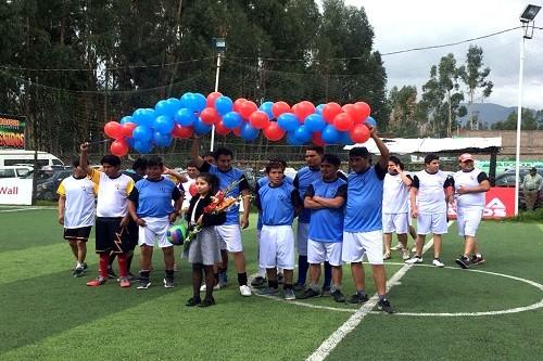 Arranca en Huancayo el I Campeonato de Fulbito Copa Voleex C30