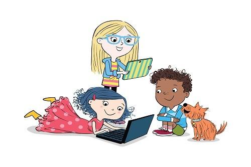 'Dot.', la serie animada de Randi Zuckerberg que alienta a las niñas a tener un rol activo en la tecnología llega a Nat Geo Kids