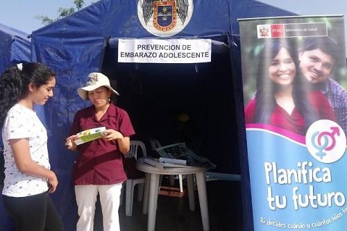 3 mil escolares de Lima Norte accederán a talleres formativos de prevención del embarazo adolescente