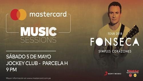 Mastercard lanza el 1er 'Mastercard Music Sessions' para sus clientes en Perú