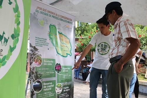 Rioja: SERNANP lanza tercera convocatoria de Hinchas de la Conservación del Bosque de Protección Alto Mayo