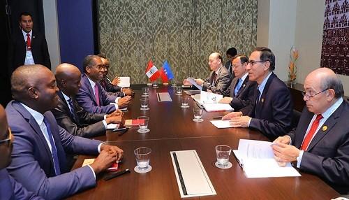 Presidente Vizcarra brindará cooperación para la defensa de los derechos humanos en Haití