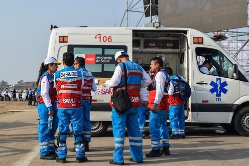 Más de 30 ambulancias del Minsa están listas para atender eventuales emergencias en VIII Cumbre de las Américas