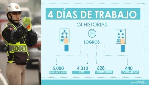 Campaña digital reconoce el trabajo de la mujer policía en el norte del Perú