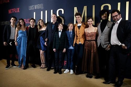 Netflix celebra la premiere de Luis Miguel La Serie