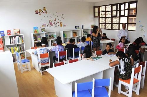 Municipalidad de Lima implementa bibliotecas escolares especializadas en colegios del Cercado de Lima