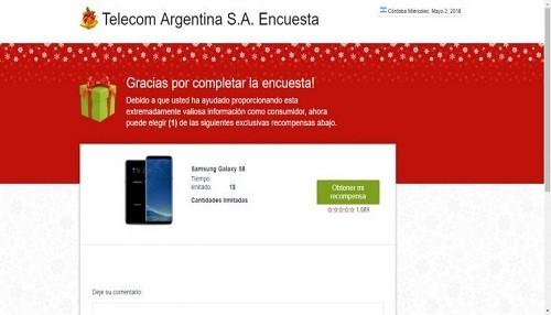 ESET advierte por una nueva estafa vía Google que gana víctimas al ofrecer un Samsung S8 Plus a un dólar