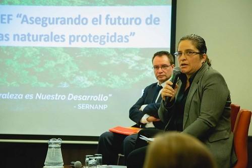SERNANP presentó proyecto del Fondo Mundial para el Medio Ambiente