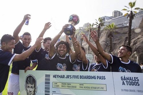 Charitas Jr. de Arequipa es el campeón de Neymar Jr's Five