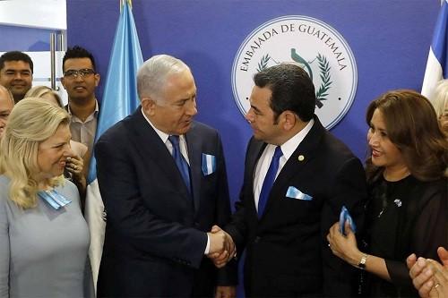 Guatemala abrió su nueva embajada en Jerusalén