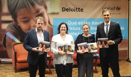 UNICEF presenta el primer Informe Regional y de Perú sobre empresas y Derechos de la niñez