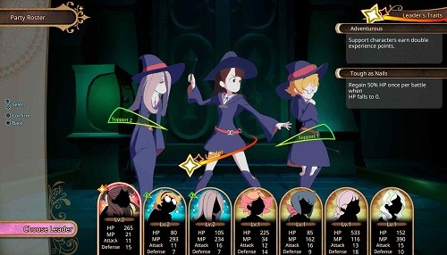 Little Witch Academia: Chamber of Time ya disponible para PlayStation 4 y PC, vía STEAM