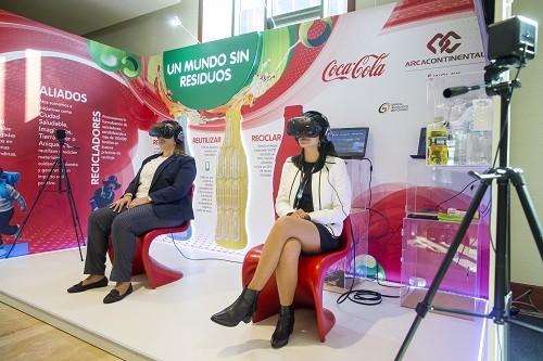 Sistema Coca-Cola se consolida como un referente en economía circular en Perú
