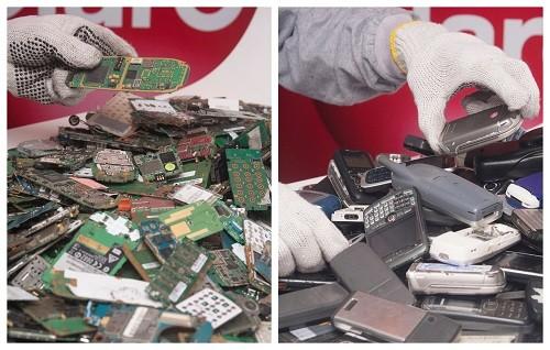 Claro recicló más de 270 toneladas de residuos de aparatos eléctricos y electrónicos