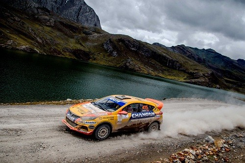 Mario Hart y el Changan Rally Team se alistan a participar en el Rally Norte Chico