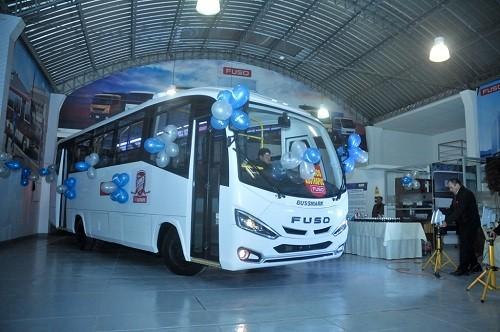 FUSO y Autrisa presentan nuevo prototipo de transporte urbano en Cusco
