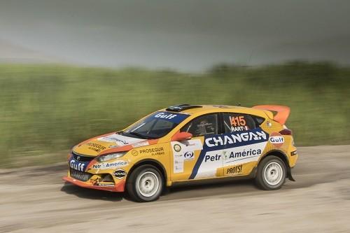 Mario Hart se impuso en la categoría Súper Turismo en el Rally Norte Chico