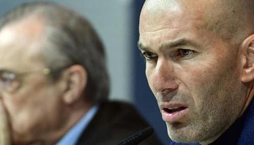 Zinedine Zidane renunció abruptamente como entrenador del Real Madrid