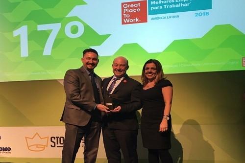 Atento reconocida como una de las mejores multinacionales para trabajar en Latinoamérica en 2018