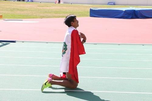Dos medallas de oro del Team Perú en atletismo cerraron Cocha 2018