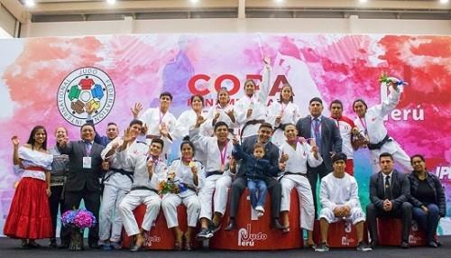 Judocas peruanos se llevan 24 preseas en Copa Panamericana