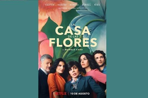 Mira el tráiler y arte principal de La Casa De Las Flores