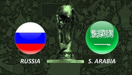 Mundial de Rusia 2018: Rusia vs Arabia Saudita [EN VIVO]