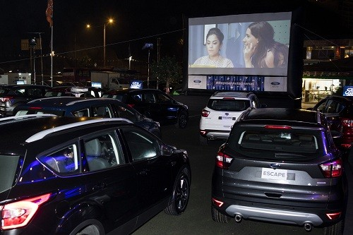 Ford Escape 2018 fue la protagonista del evento #RegresenAutocinemas
