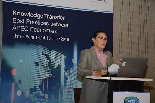 Lima es sede de taller APEC para potenciar cooperación tecnológica entre 21 economías