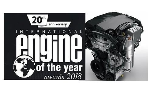 """Grupo PSA recibe por cuarto año consecutivo premio al """"Motor del Año"""""""