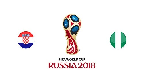 Mundial Rusia 2018: Croacia vs Nigeria [EN VIVO]