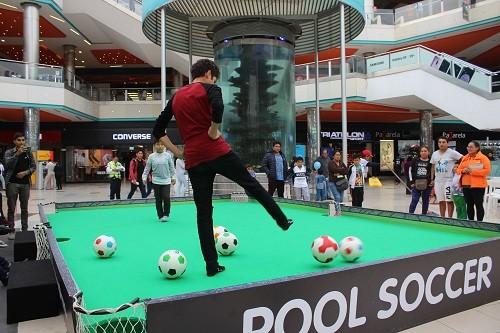 En MegaPlaza, el fútbol es una fiesta