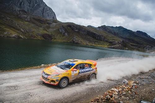 Mario Hart y el Changan Rally Team sumaron quince puntos en el Rally Los Chankas
