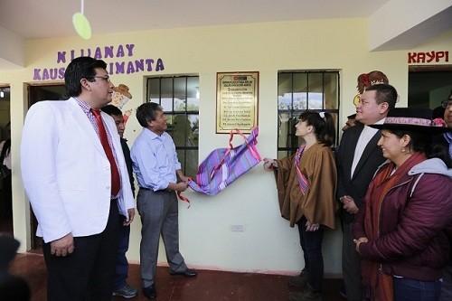Ministra de Salud inauguró Centro de Salud Mental Comunitario en Ayacucho