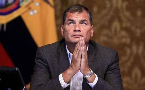 Ecuador: Tribunal ordena detención del ex presidente Rafael Correa
