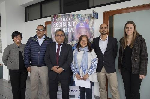 Se inauguró el primer Diplomado de Reciclaje Inclusivo en el Perú