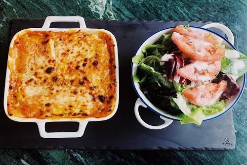 Gastronomía: Lasagna de Pollo, lo nuevo de Cafeladeria 4D