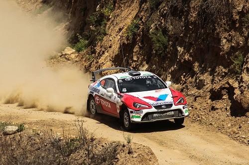 Lucho Alayza penta campeón Nacional de Rally