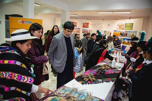 Sernanp: más de 50 productores de comunidades campesinas participarán en feria Nor Yauyina
